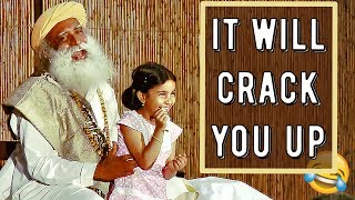 Sadhguru funniest and wittiest moments