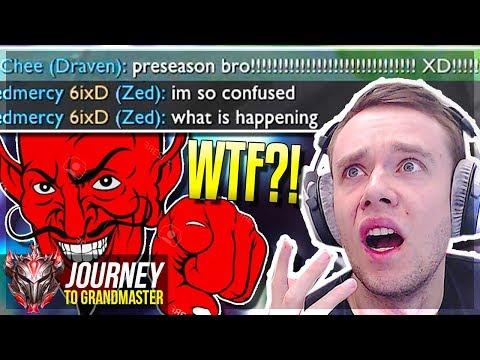 iT's jUsT pReSeAsOn BrOoOo!!!!!!!!!!!! XD!!!!!!!! - Journey To Grandmaster | League of Legends