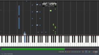 El perdón  y Travesuras Nicky Jam piano cover y tutorial Synthesia by Misael