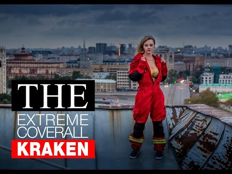 "The extreme coveralls ""Kraken"" - for tourists, climbers, rescuers."