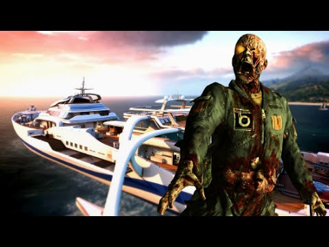 "HIJACKED ZOMBIES (BO2 Map Remake) ""Call of Duty Zombies"" Custom Zombies Gameplay"