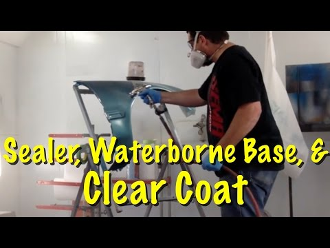 How To Spray Primer Sealer, Waterborne Base, and Clear Integra Project