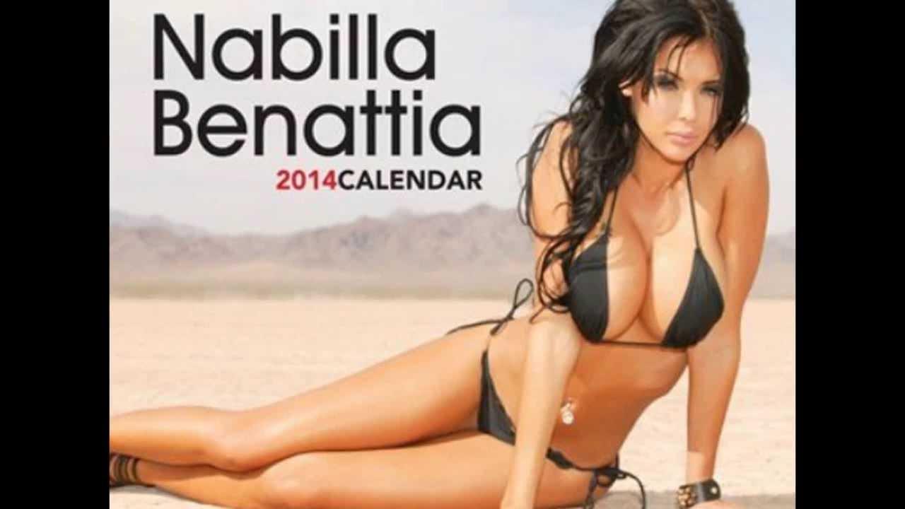 Nabilla Benattia Calendrier Sexy - Youtube-2639