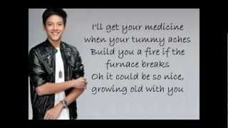 Repeat youtube video Daniel Padilla - Grow old with you w/ lyrics (Full Version)