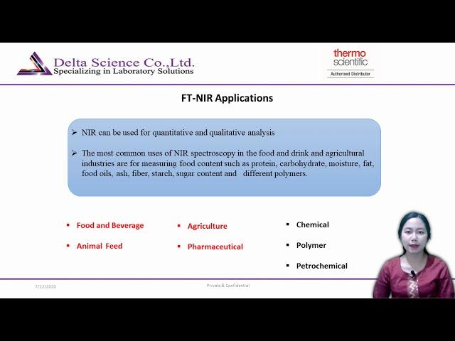 FT NIR Instrument Product PresentationHD 1080P