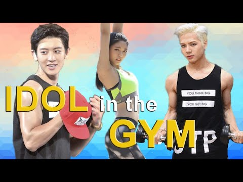 KPOP IDOLS at the GYM (EXPECTATION vs REALITY)