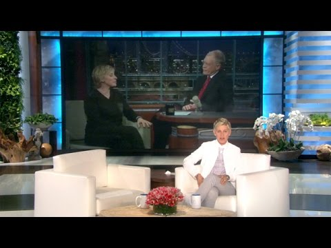 Ellen's Message to David Letterman
