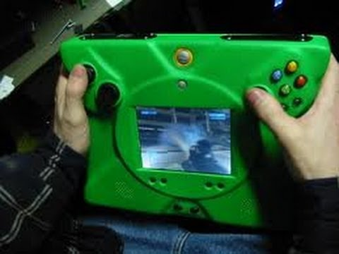 Prototype Portable Handheld Xbox 360 Halo 3 Gameplay The