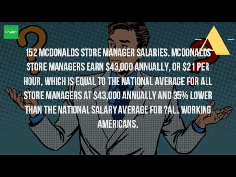 Restaurant Kitchen Manager Salary how much does a store manager at mcdonalds make? - youtube