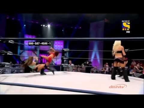 Madison Rayne vs Angelina Love vs Brooke vs Gail Kim vs Taryn Terrell Ladder Match