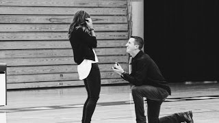 Surprise Proposal at Springfield College