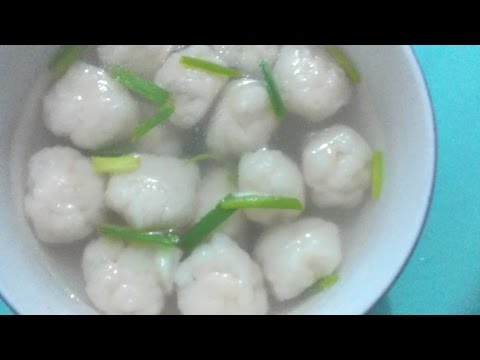 快速10分钟做鱼丸 How To Make Fish Balls Express Way Secret Revealed!