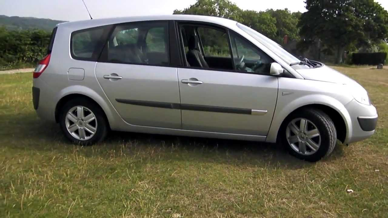 2005 renault grand scenic 1 5 dci 7 seat 60 000 miles youtube. Black Bedroom Furniture Sets. Home Design Ideas