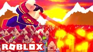 SUPERMAN IN ROBLOX! (Roblox Superhero Life)