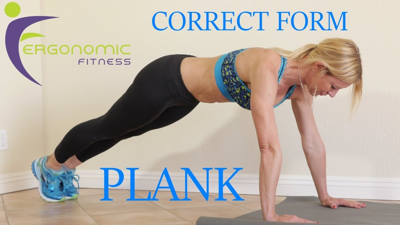 HOW TO PLANK (CORRECT FORM) - YouTube