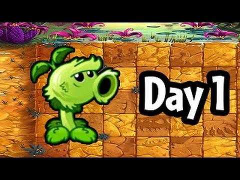 Plants vs Zombies 2 ☀ Best of Free Gameplay Android for Child ☀ Guide Game ☀ Jurassic Marsh Day 1