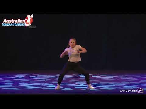 2017 Australian Dance Festival: Chelsea Blackburn, Dance Around The World Solo Competition