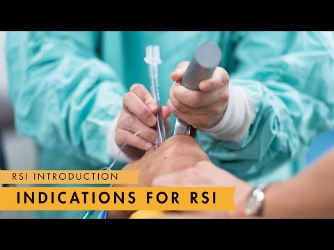 Rapid Sequence Induction & Intubation: Intro & Indications - MEDZCOOL