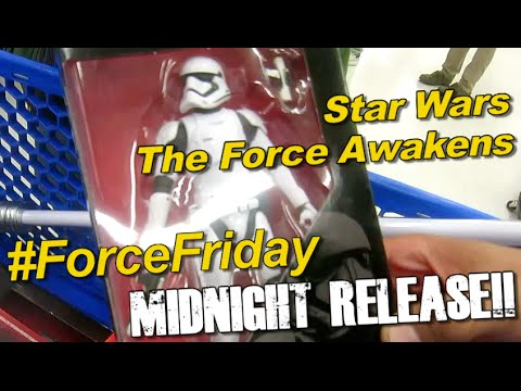 #ForceFriday Star Wars Force Awakens Midnight Release Event At Coquitlam Toys R Us