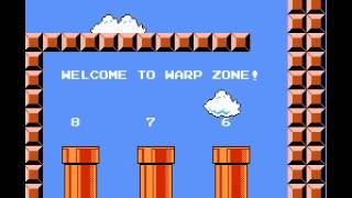 Super Mario Bros. Speedrun in 4:57.69
