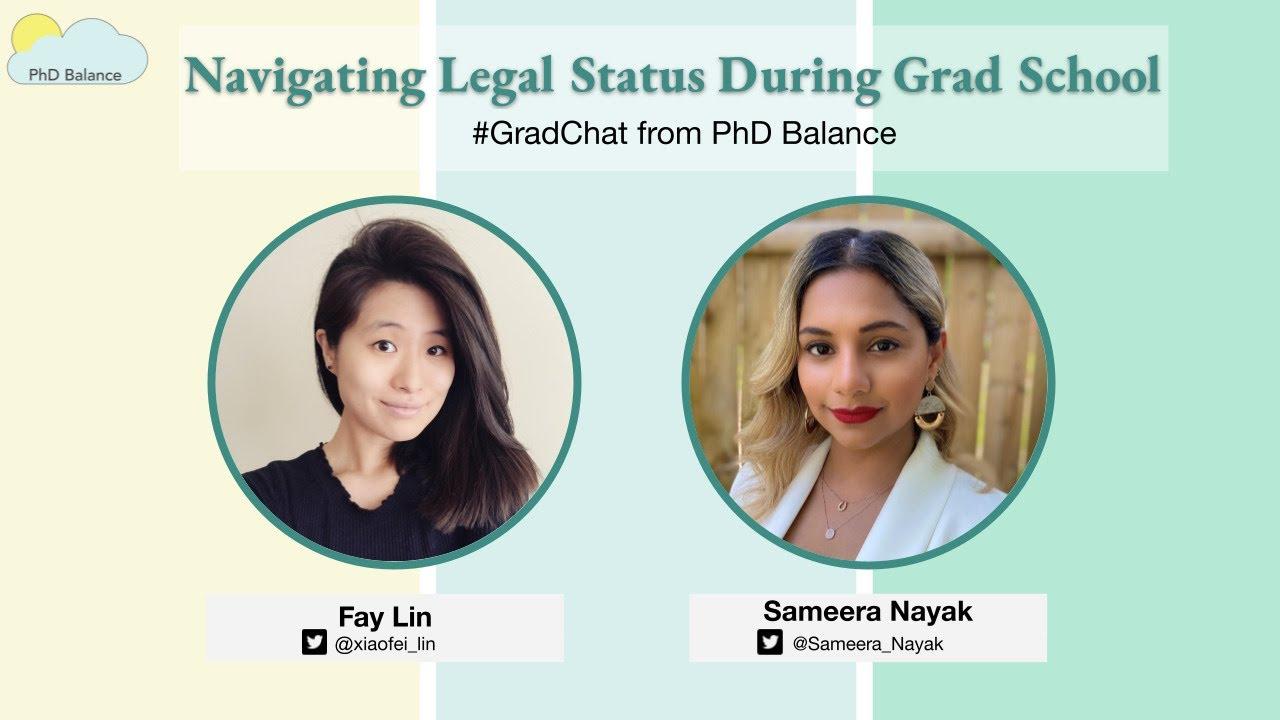 Navigating Legal Status During Grad School ~ w/ Sameera Nayak