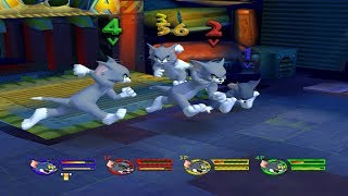 Tom and Jerry War Of The Whiskers Wii Tom vs 4 Tom (Emulator for Dolphin)