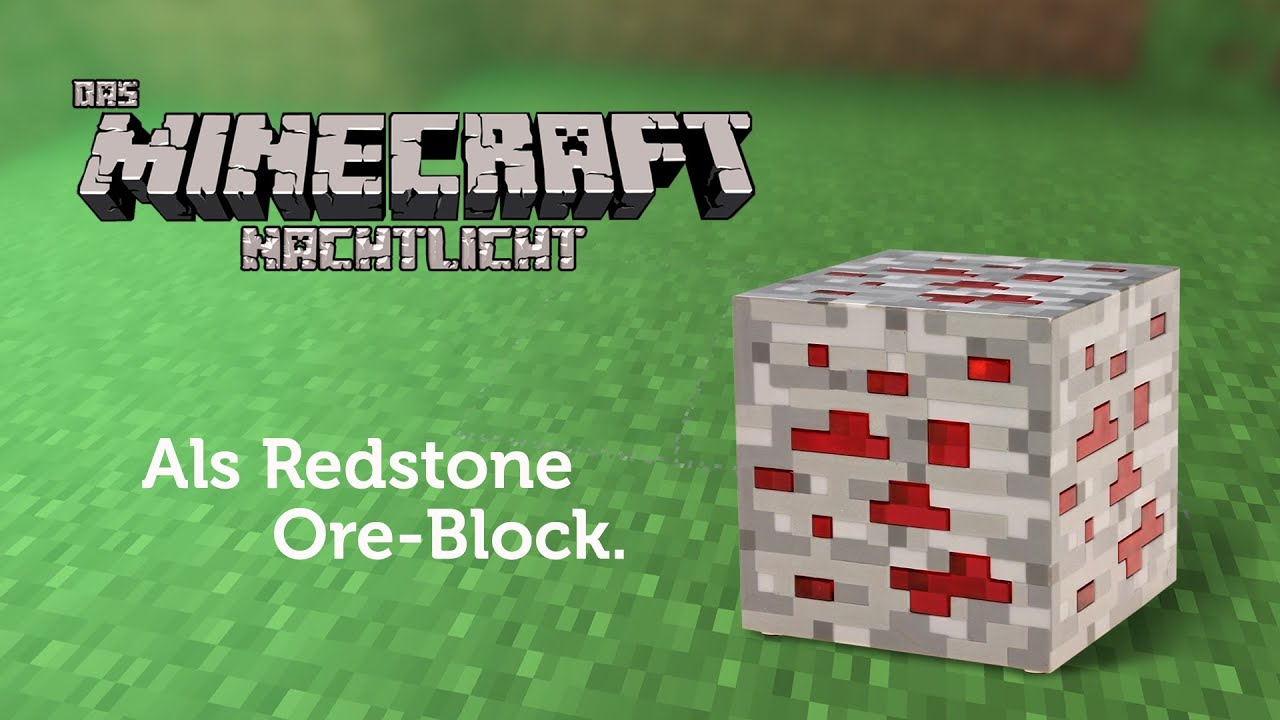 Minecraft Redstone Block
