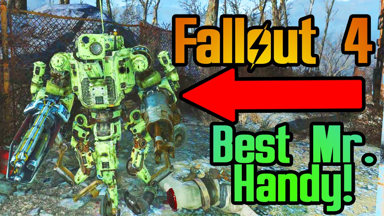 Fallout 4 Automatron Dlc The 1 Mr Handy To Make In