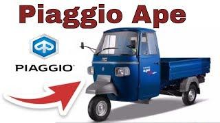 Piaggio APE, 2018, todo lo que debes saber de esta MOTOCICLETA, INTERIOR Y EXTERIOR.