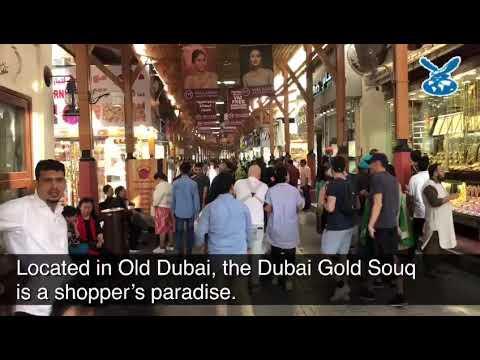 All that glitters, a walk through Dubai's iconic Gold Souq