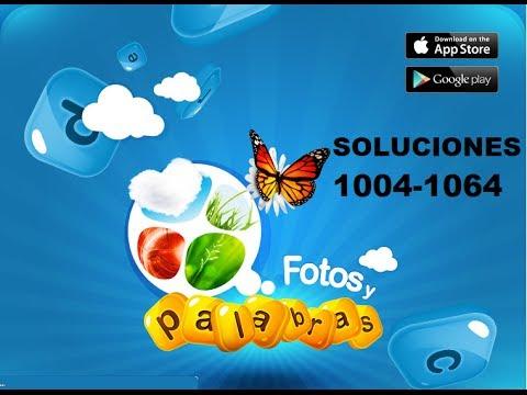 Soluciones juego facebook fotos y palras respuestas 1004-1064