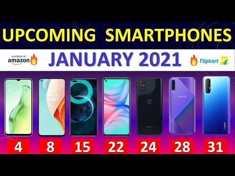 Top Upcoming Smartphones January 2021 🔥🔥🔥