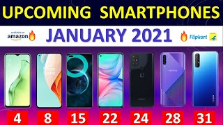Top Upcoming Smartphones January 2021 🔥🔥🔥