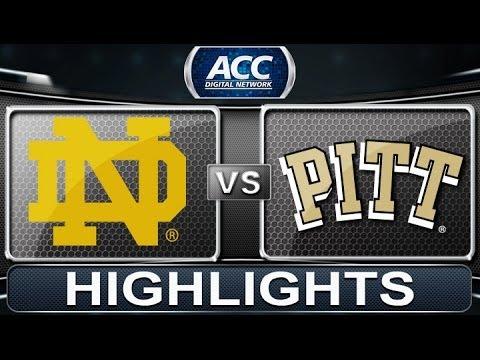 2013 ACC Football Highlights   Notre Dame Vs Pittsburgh   ACCDigitalNetwork