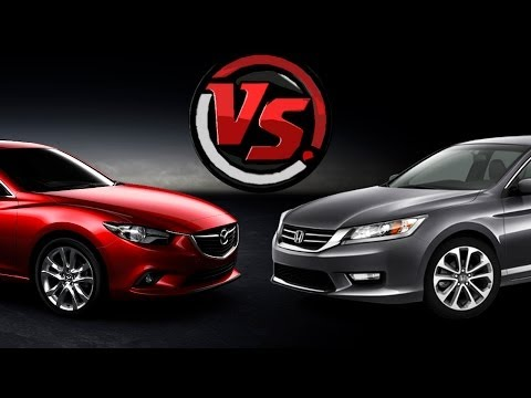 2hp Mazda 6 VS Honda Accord