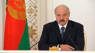 Лукашенко о предстоящем матче Беларусь-Латвия