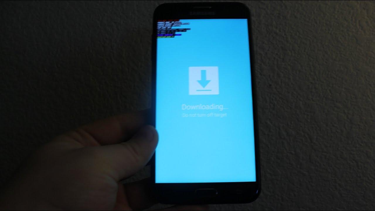 Samsung Galaxy J7 DOWNLOAD MODE