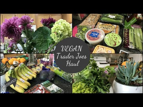 HUGE TRADER JOES HAUL! | VEGAN, ORGANIC & PRICES SHOWN! | January 2017