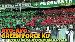 Download Video Begini saat Suara dan koreo Bonek Tribun Green nord Menyatu   Persebaya vs PSM Makassar MP3 3GP MP4