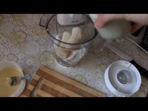 Рецепт: Творог с медом и бананами - все рецепты России