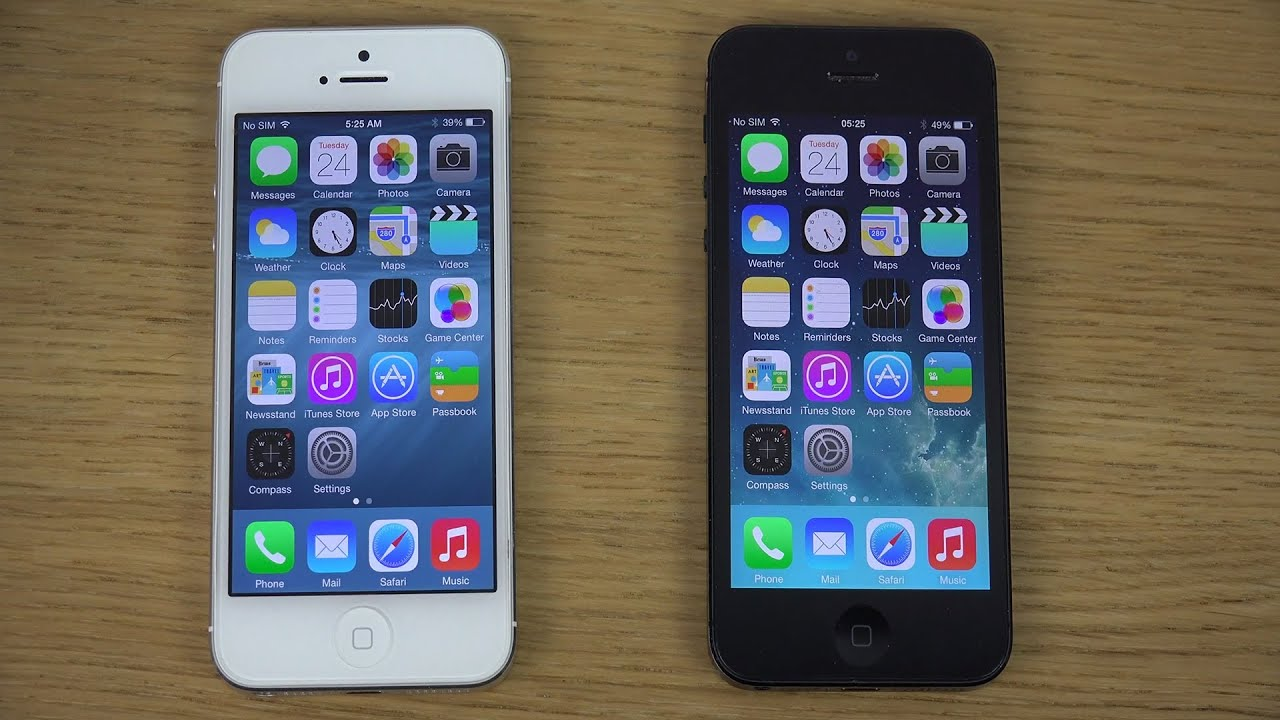 iphone 5 ios 8 beta 2 vs iphone 5 ios 7 1 1 jailbroken review youtube. Black Bedroom Furniture Sets. Home Design Ideas
