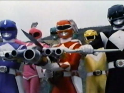 Mighty Morphin Power Rangers - Fight Music Video