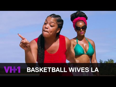 Basketball Wives LA | Mehgan James & Angel Brinks Lose Their Cool | VH1