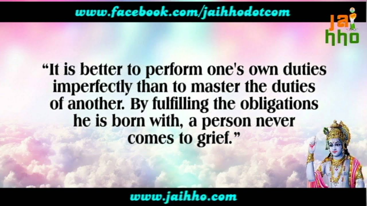 Bhagavad Gita Quotes Part 4  YouTube