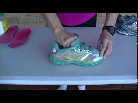 How to clean your running shoes - YouTube bc3683ced