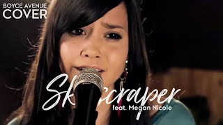 Repeat youtube video Skyscraper - Demi Lovato (Boyce Avenue feat. Megan Nicole acoustic cover) on Apple & Spotify