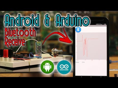 Bluetooth Arduino RECEIVE data + Chart - YouTube