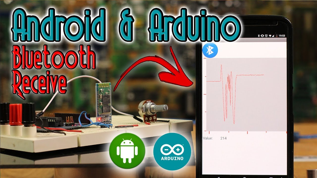 Bluetooth Arduino RECEIVE data + Chart