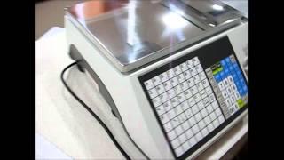 видео Торговые весы CAS