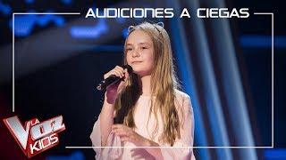 Alicia Pétina canta 'Memory' | Audiciones a ciegas | La Voz Kids Antena 3 2019